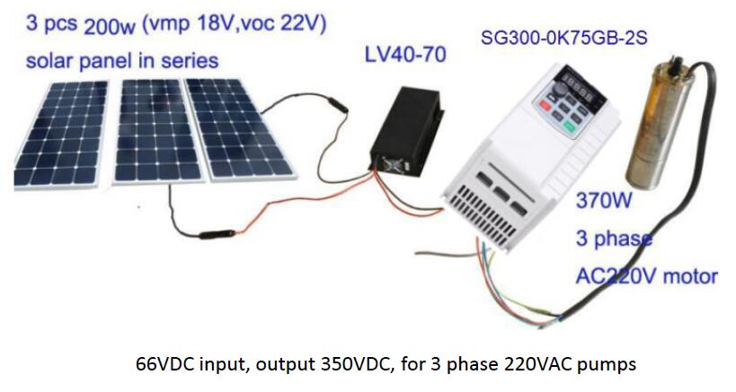 Solar Voltage Booster Dc Low Dc Input Big Dc Output 60v To 100vdc